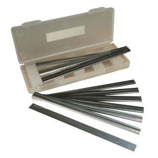 75.5 x 5.5 x 1.1mm Reversible Planer Blades  - Box of 10-HSS