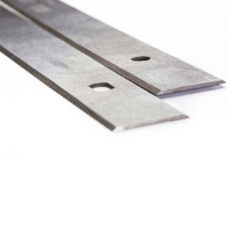 Kity 439 Bestcombi 2000 Double Edged Planer Blades Knives 200mm Long with Slots One Pair