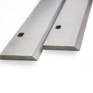 Inca  262mm Planer Blades Knives Long with 2 Slots One Pair