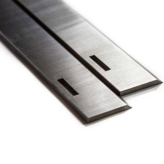 Multico Planer 9 1/4 inch Slotted HSS Planer Blades One Pair