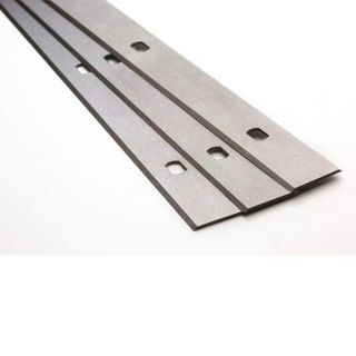 Kity 1647 Planer Blades Knives 310mm Long with Slots Set of 3 Blades