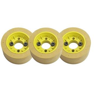 Heavy Duty Power Feed Rollers 120mm Dia 60mm Wide-Set of 3 Rollers