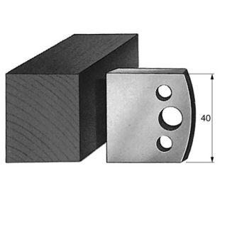 Profile 000 Spindle Moulder Cutters - 40mm Profile Knives & Limitors Set
